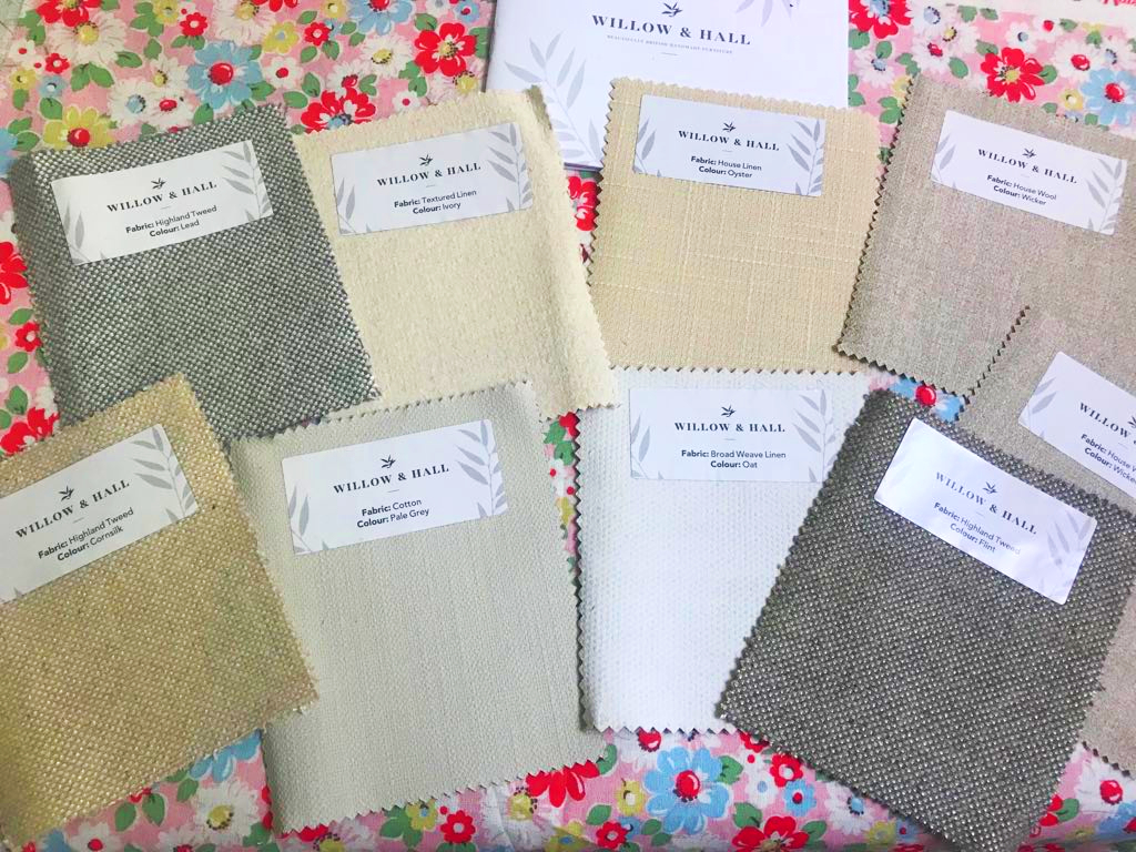 Free Willow & Hall Fabric Samples