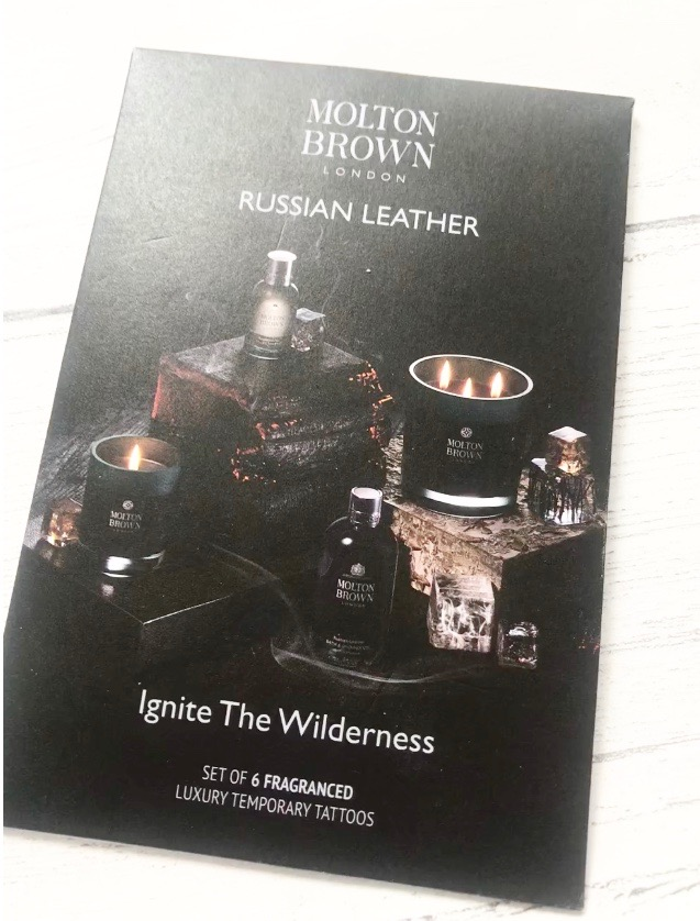 free molton brown temporary tattoos