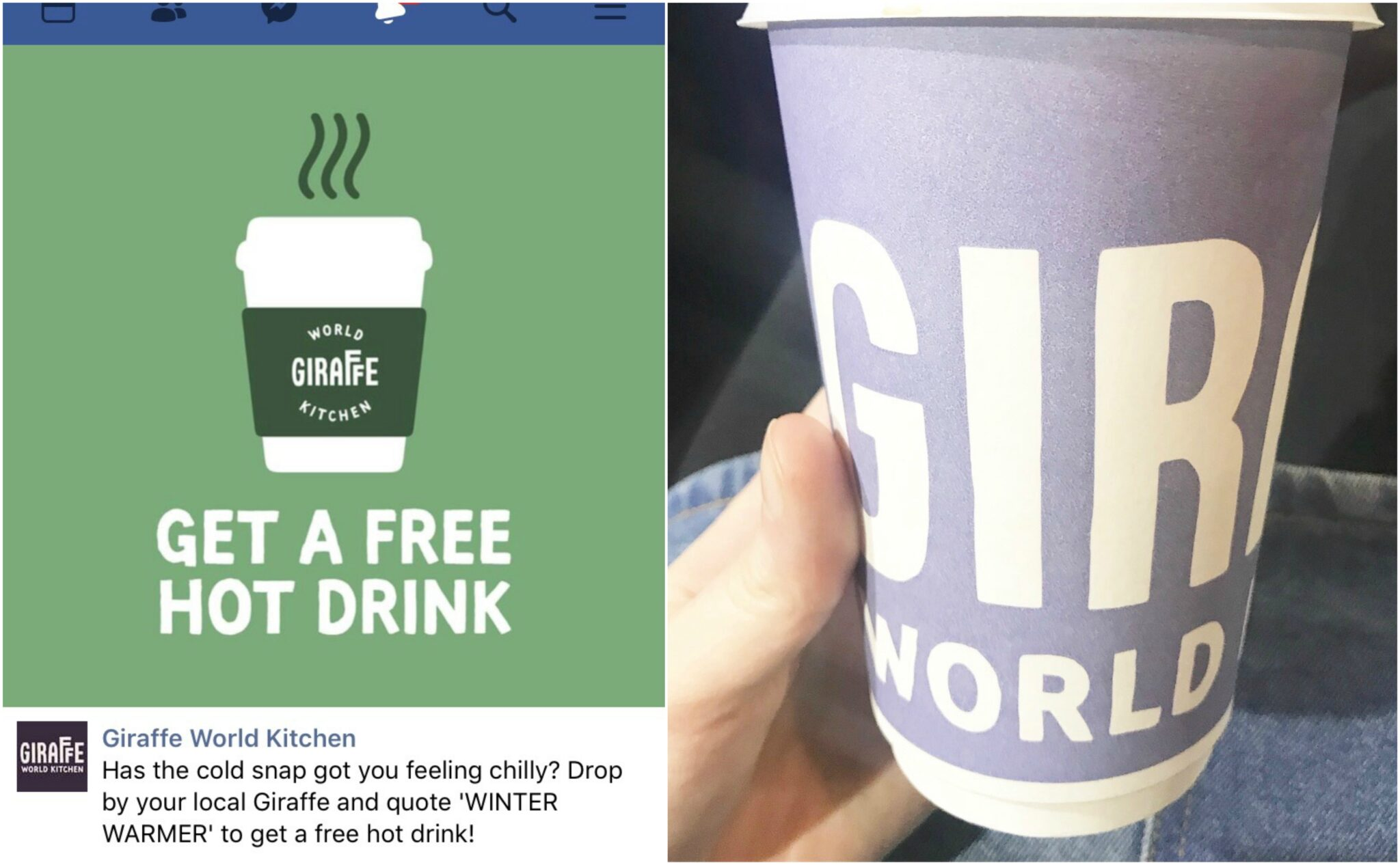 Free Giraffe coffee