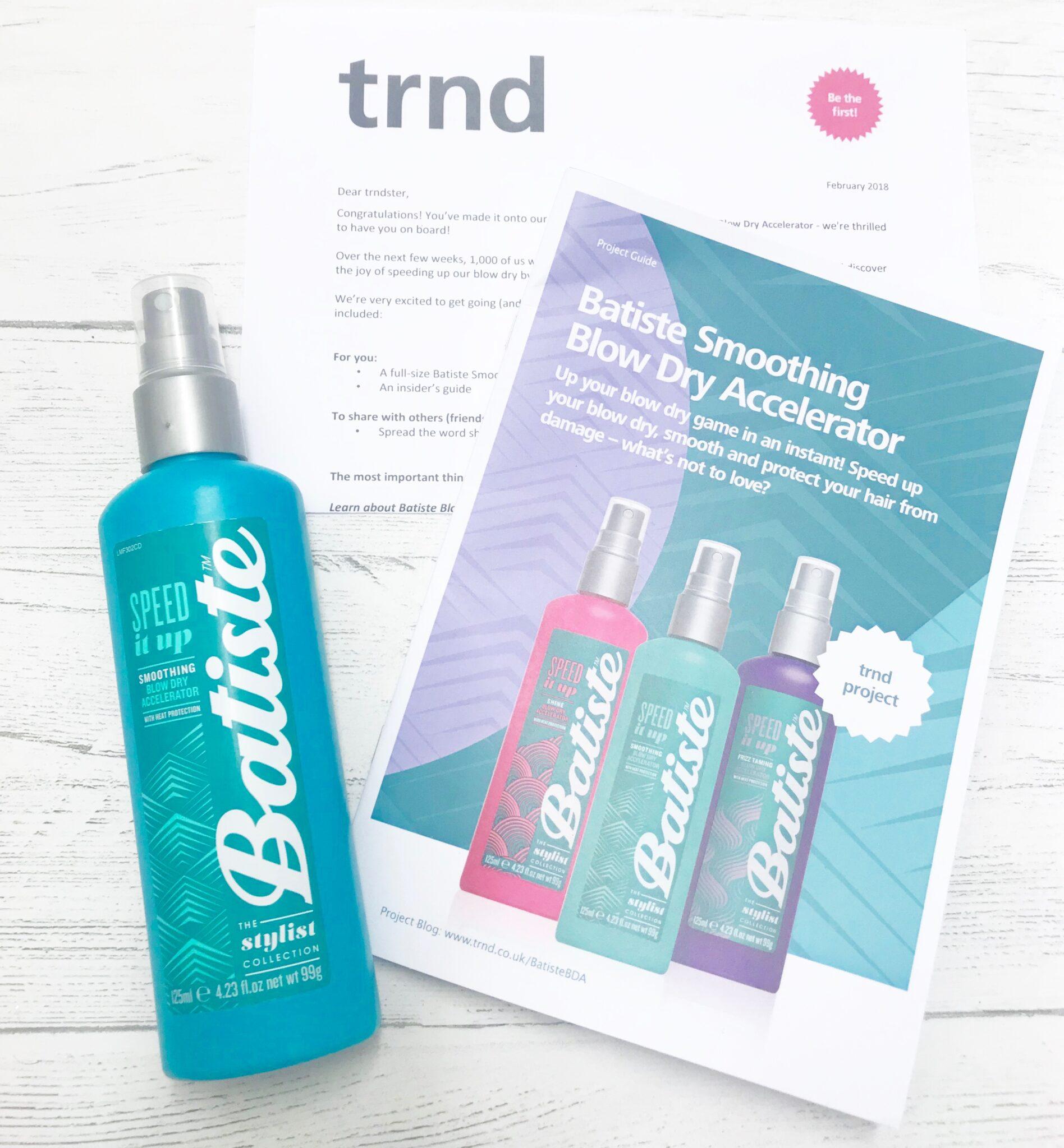 free batiste dry shampoo blow dry