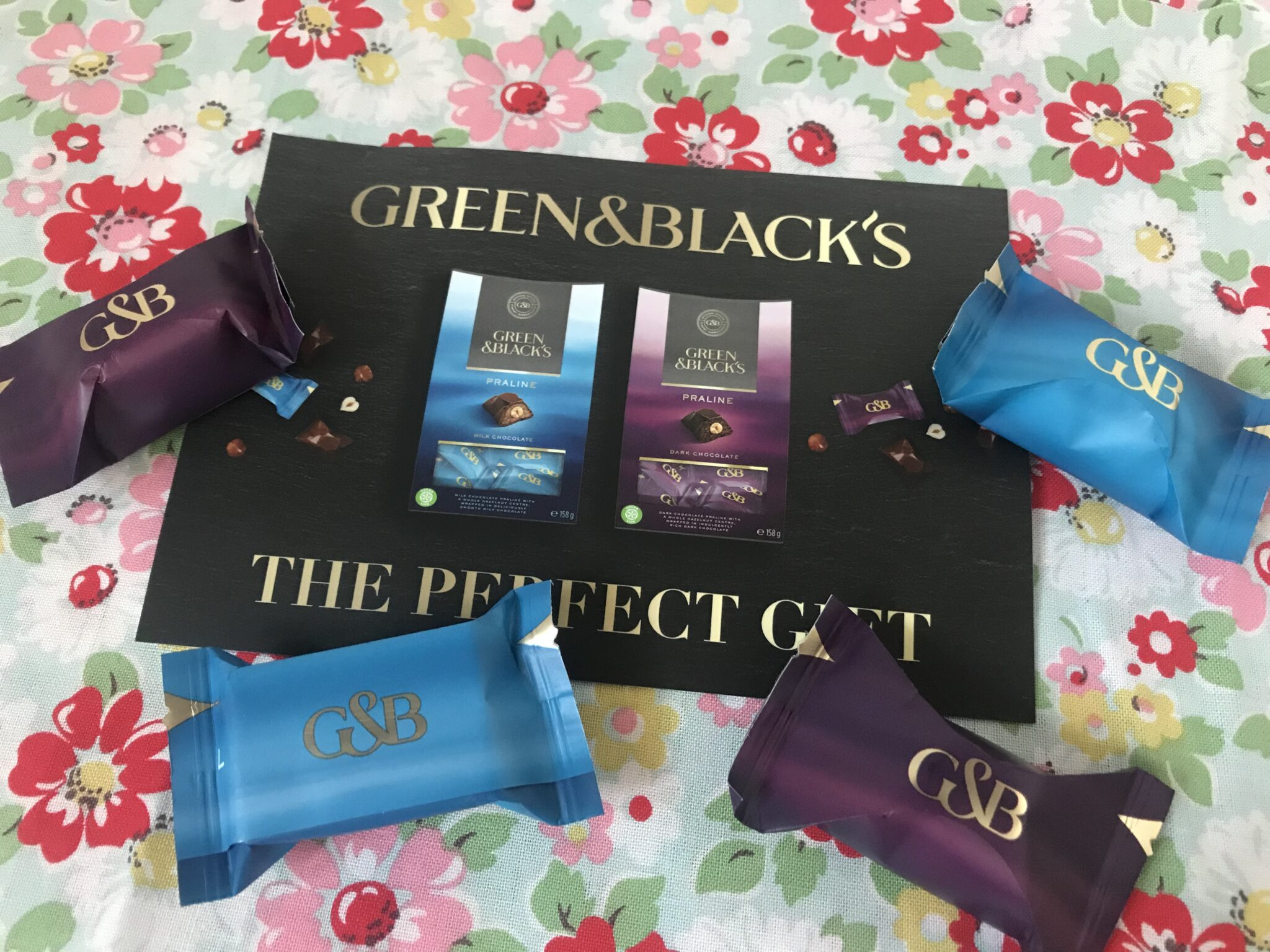 free green and blacks chocolates