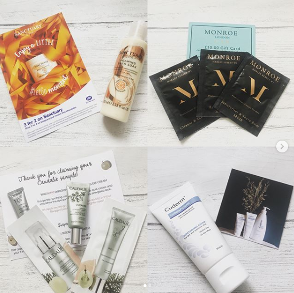 skincare freebies