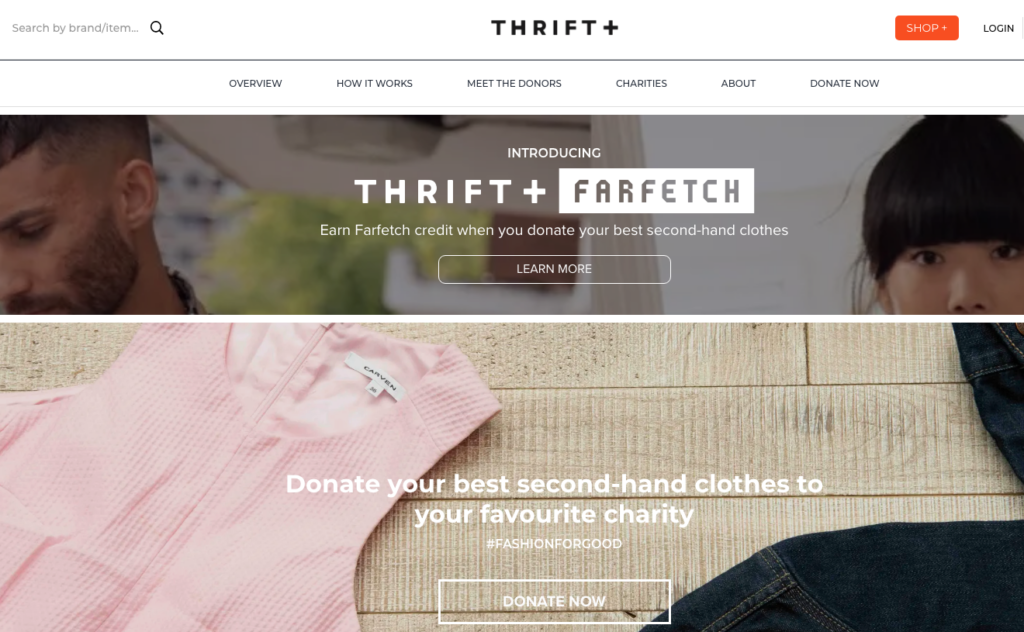 selling sites - thrift+