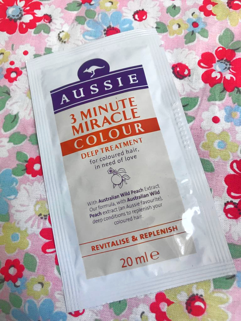 Free Aussie 3 Minute Miracle Treatment