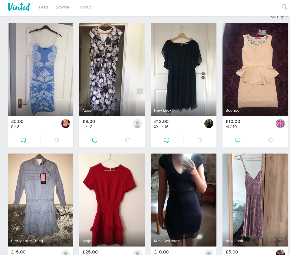 selling clothes online vinted