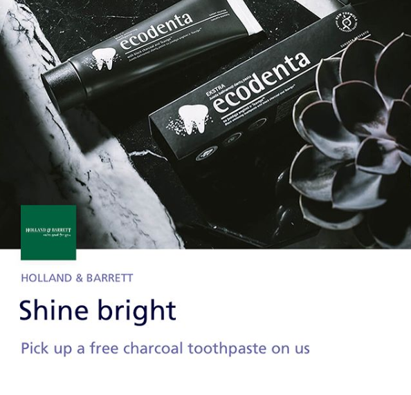 free o2 freebies free toothpaste holland and barrett