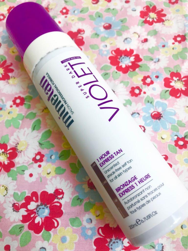 free bottle of Minetan fake tan