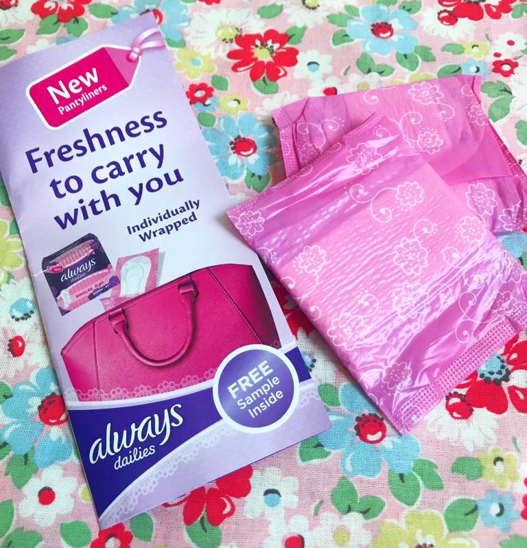 free Always Sanitary Towels