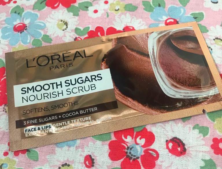 free L'Oreal Paris Sugar Scrub
