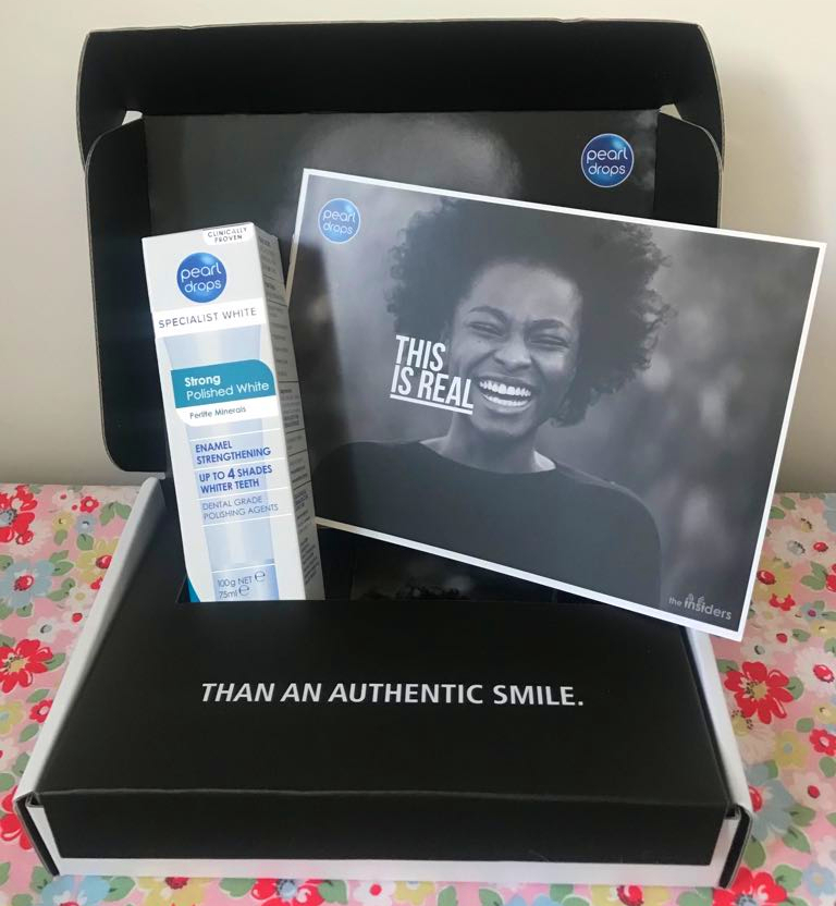 free Pearl Drops toothpaste