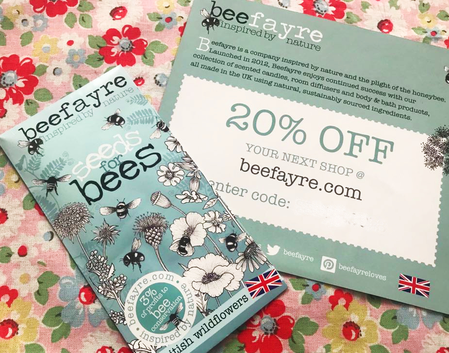 free pack of bee seeds