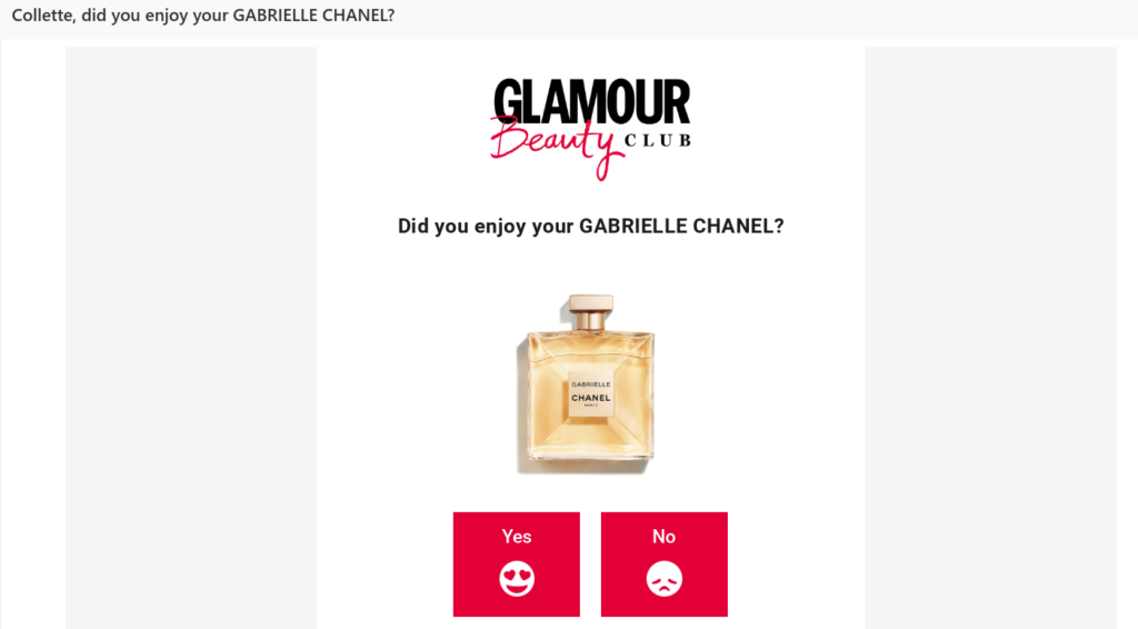 Glamour Beauty Club product testing opportunities