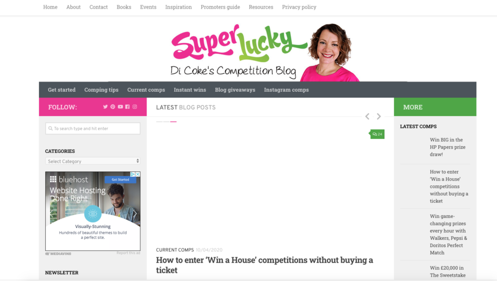 Super lucky competitions