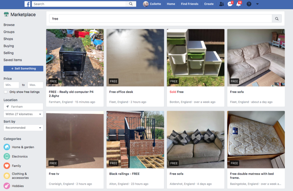 FB marketplace