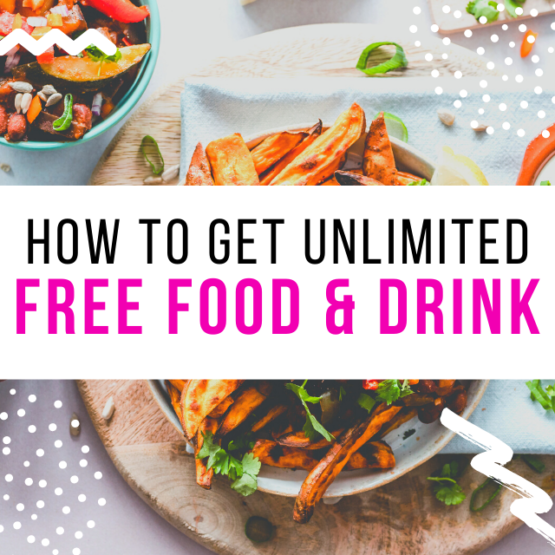 how to get free food & drink